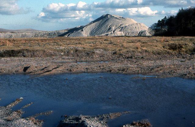 China Clay Tip, near Lee Moor