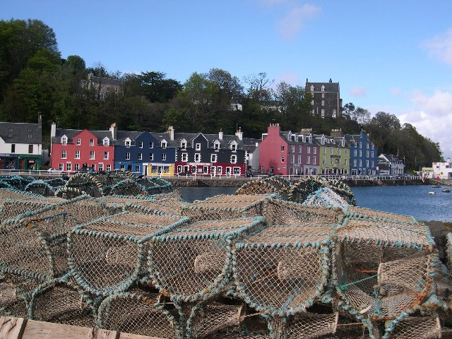 View of Tobermory from Pier