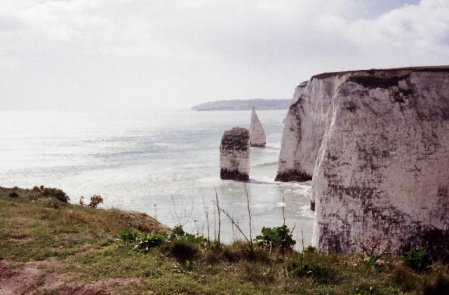 The Pinnacles, south of Old Harry