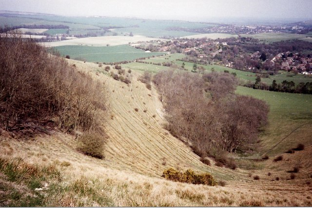 The coombe above Kingston