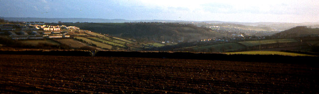 Fields north of Southway 1979