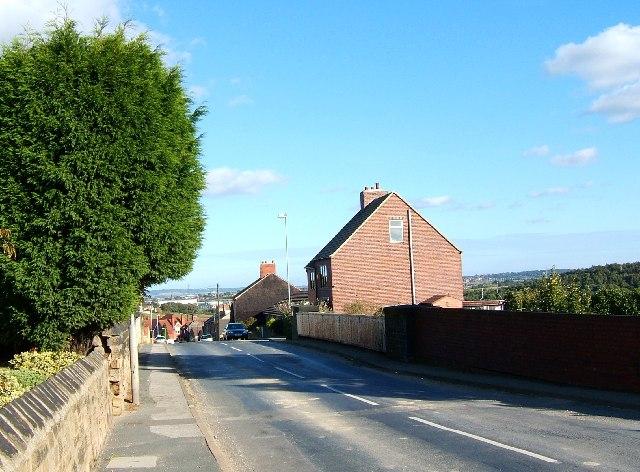 Cemetery Road, Hemingfield