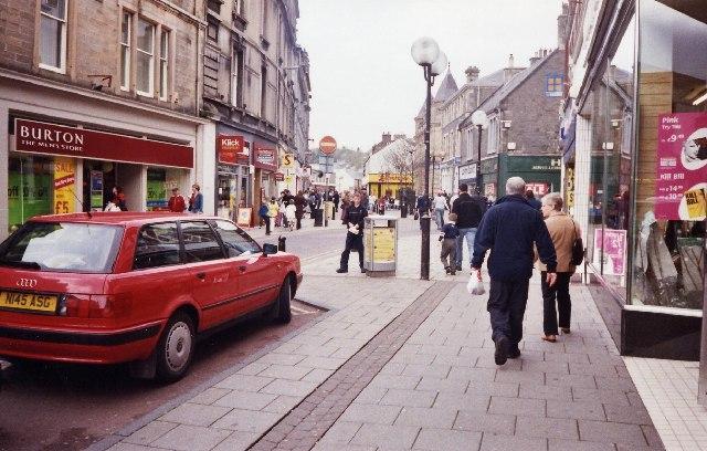 Channel Street, Galashiels