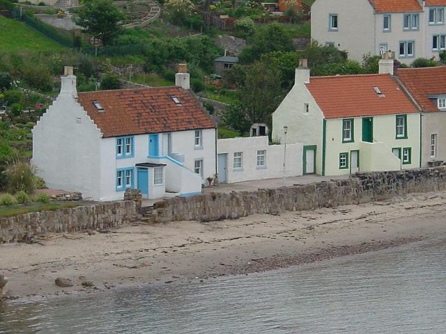 Fishermen's cottages, Pittenweem