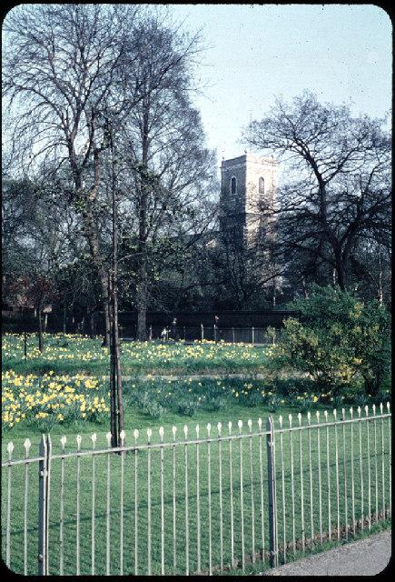 St. Mary's Church, Lewisham, 1959