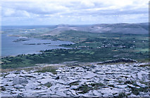 M2008 : Ballyvaghan Bay, looking eastwards to Moneen Mountain and Abbey Hill by Dr Charles Nelson