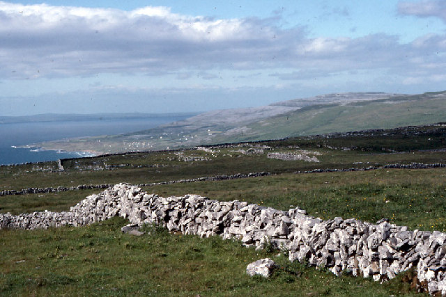 Western coastline of The Burren from Dereen West