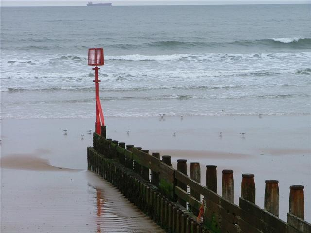 First of the Groynes, Redcar Stray