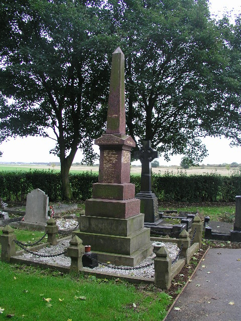 War Memorial At Burringham