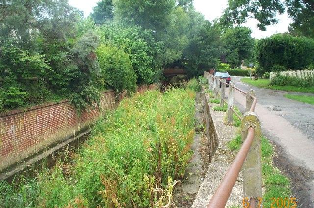 River Rib at Buntingford