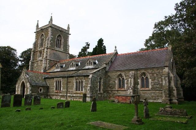 St.Michael's church, Mavis Enderby, Lincs.