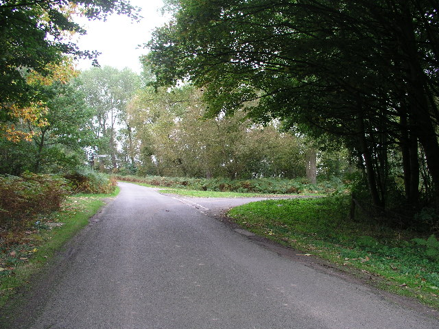 Junction with the road to East Ferry