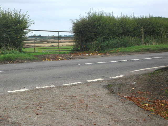 Junction of New Road with Langar Lane, near Langar