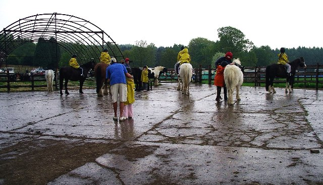 The riding school, Boreatton Park