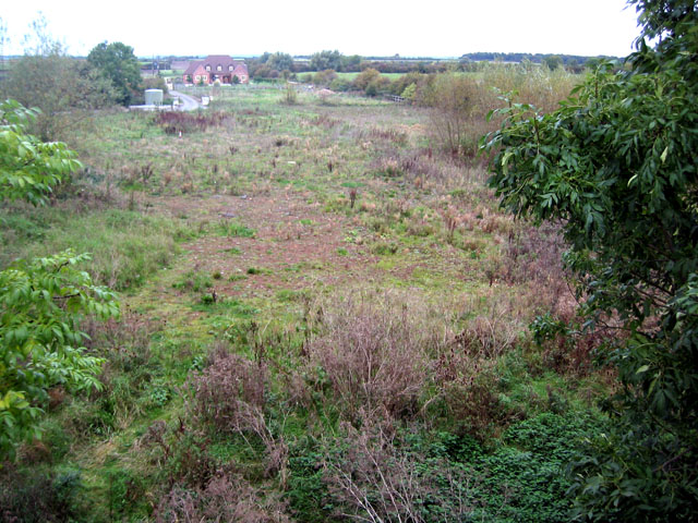 Site of Barnstone Station, Nottinghamshire