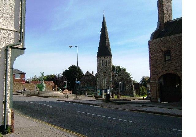 St Michael's Church and Fountain, Braintree