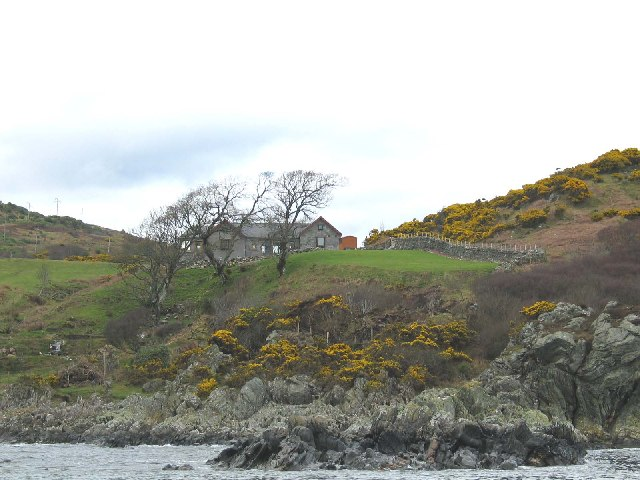 Rubha Darach,south of Carradale Bay, Kintyre.