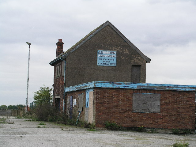 Old Railway Wharf Building