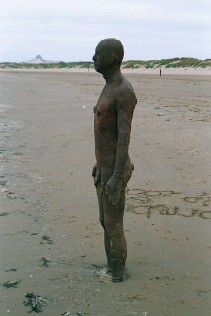 Crosby Beach - sculpture