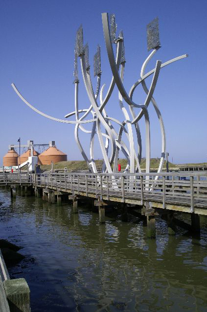 Industrial sculpture on Blyth Quay