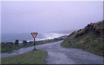 M1307 : Coast road south of Fanore by Dr Charles Nelson