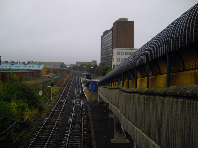 Hebburn Metro Station and Reyrolle offices