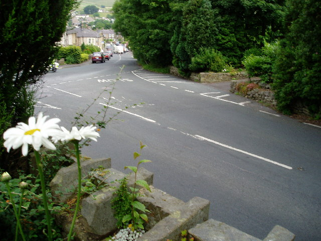 Sabden village from Lane Ends
