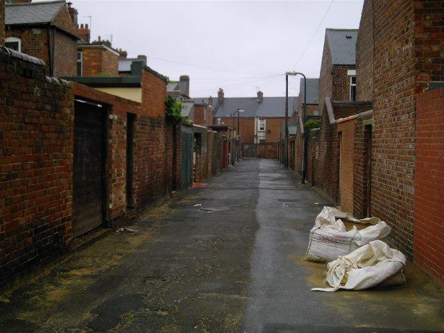 Park Road Back Lane