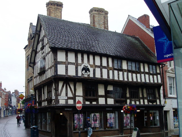 Oswestry - half-timbered building