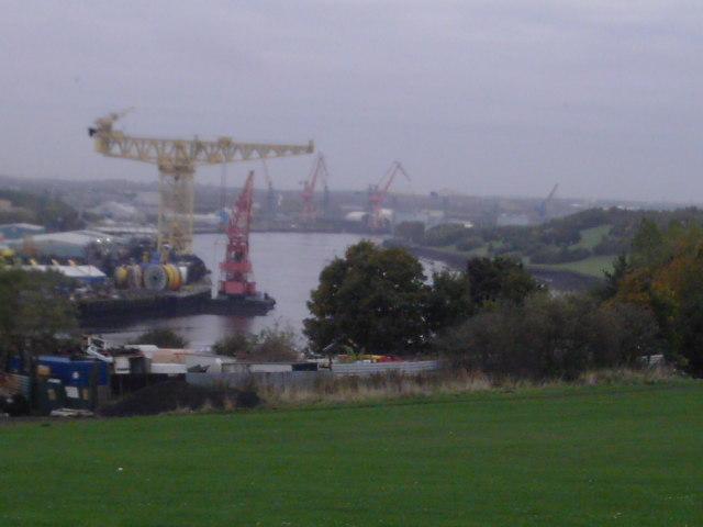 Tyne Curve at Bill Quay