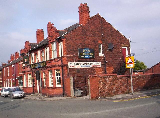 The Ben Jonson public house, Warrington Road, Wigan
