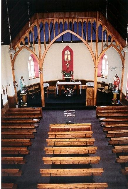 Eriskay Church Interior