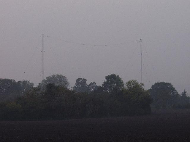 VLF Aerials at Ddol