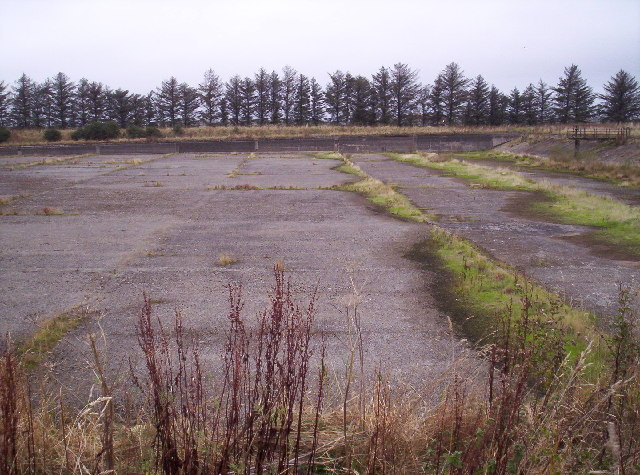 Empty reservoir near Colliston