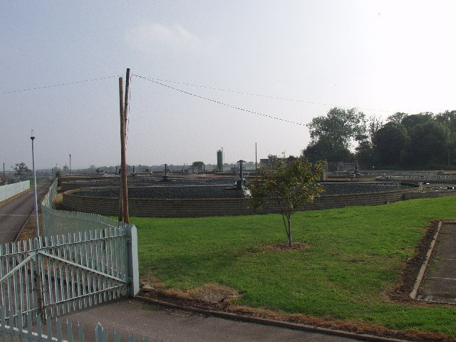 Five Fords sewage works, Wrecsam eastern outfall