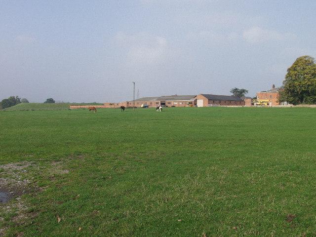 Bryn-y-grog farm & Marchwiel reservoir earthworks