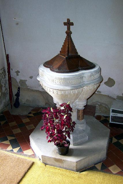 Kirmington - Baptismal Font