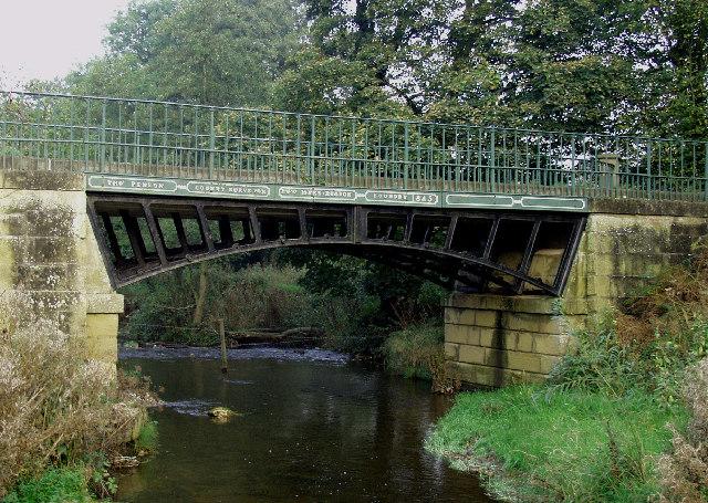 Sontley Bridge near Wrecsam