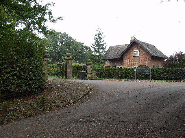 Eastern Lodge and gate, Erddig Estate near Wrecsam