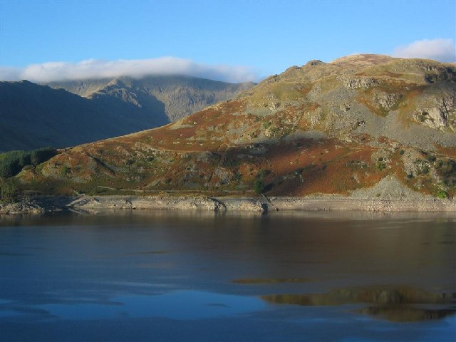 Flakehowe Crags, across Haweswater