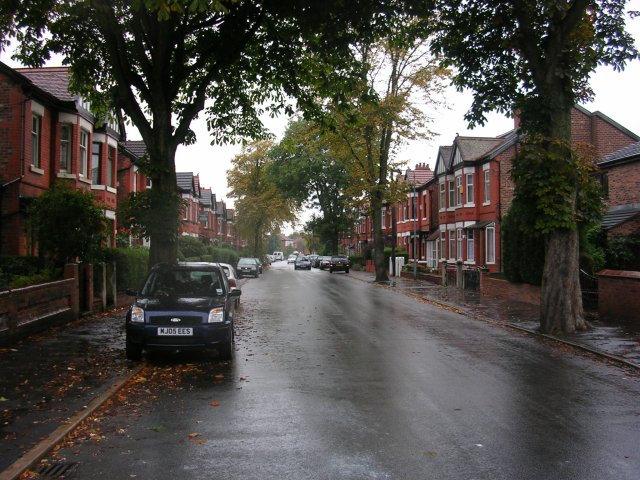 Burnage on a wet afternoon.
