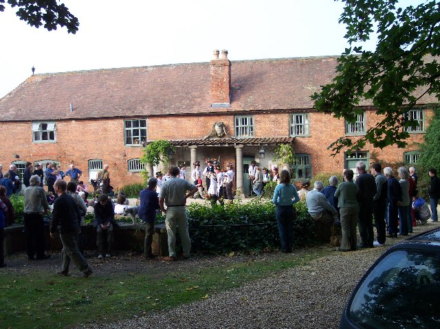 Morris Dancers at Hellens Manor