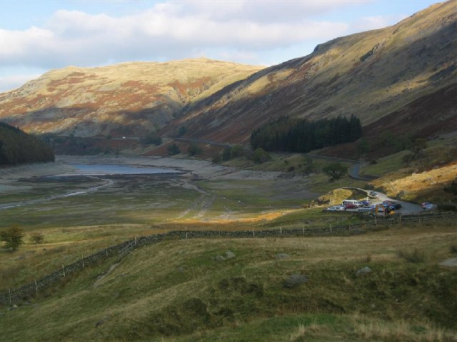 Car Park at the Head of Haweswater