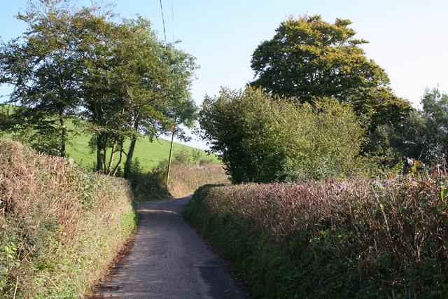 Uplowman: Whitnage Road
