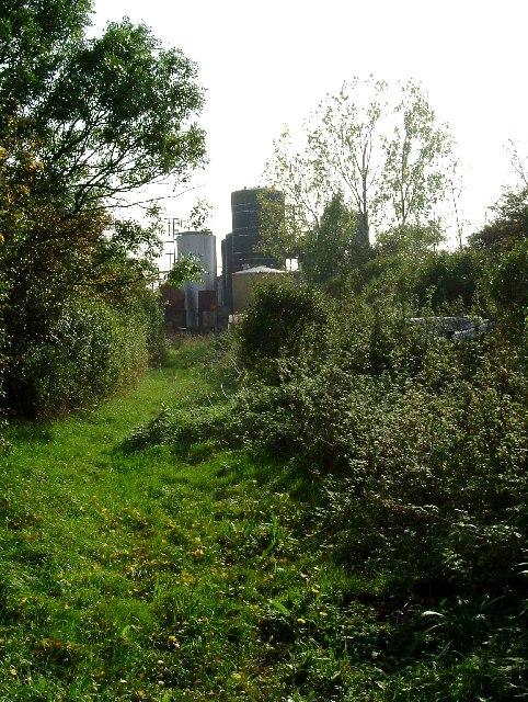 Footpath Near Ongar Hall farm