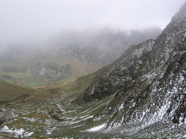 The Northern Face of Y Garn
