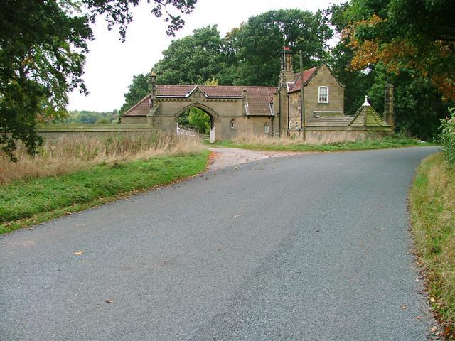 The Lodge, Rounton Grange