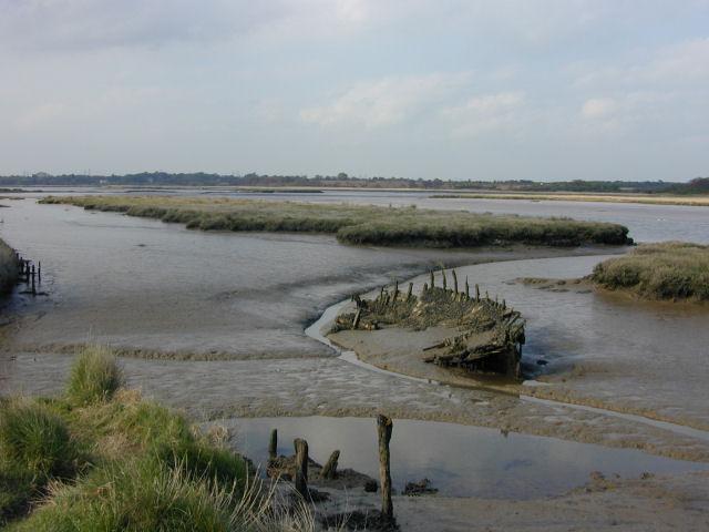 The River Alde at Iken