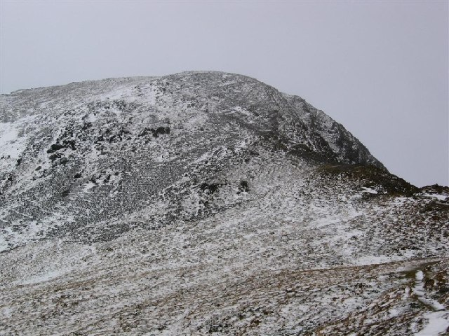 The North East Ridge Route onto Y Garn