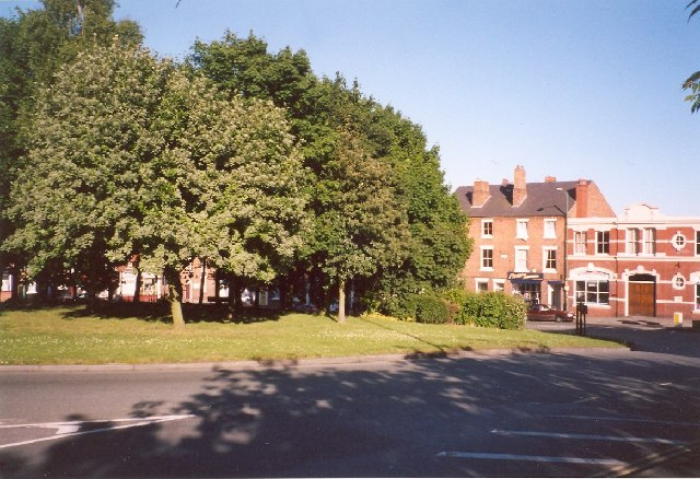 Park on the roundabout, Frankwell, Shrewsbury